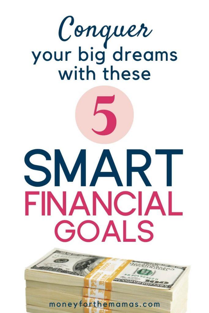5 smart financial goals