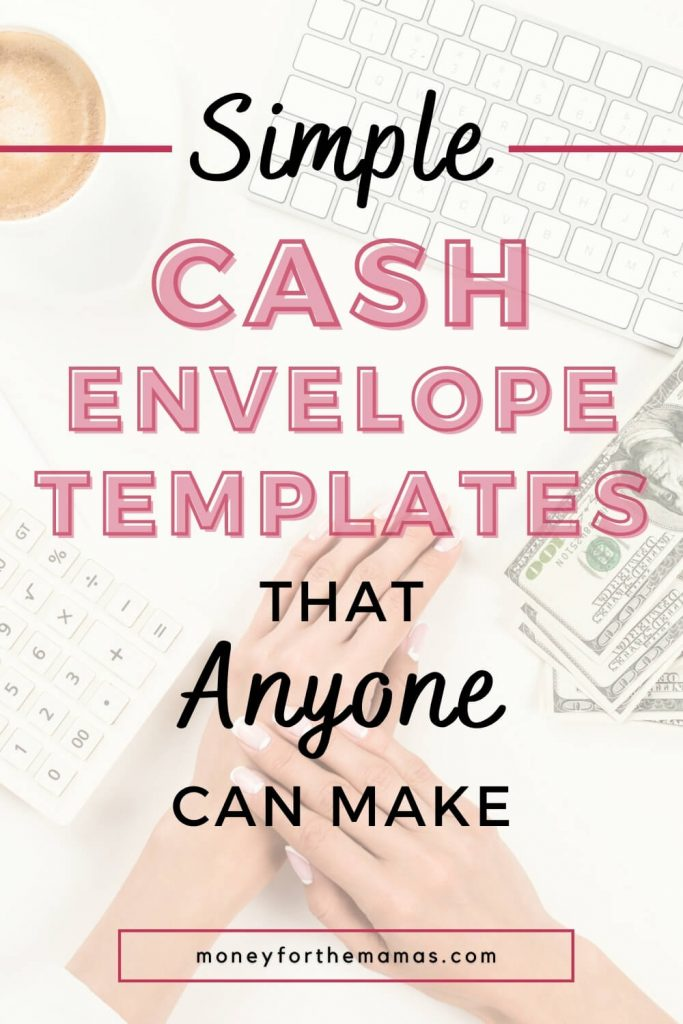 simple cash envelopes that anyone can make