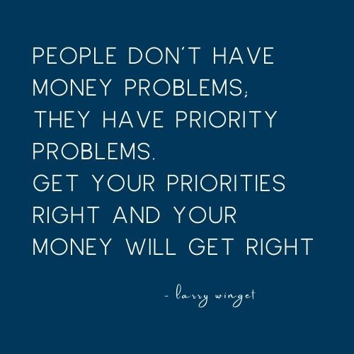 larry winget money quote