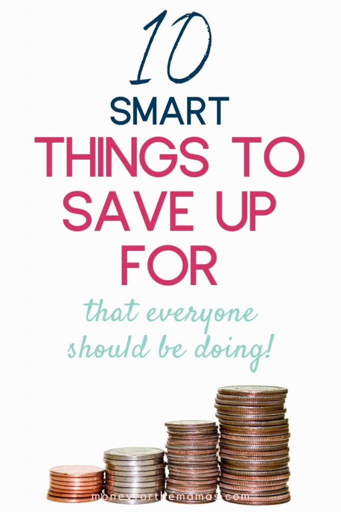 smart things to save up for