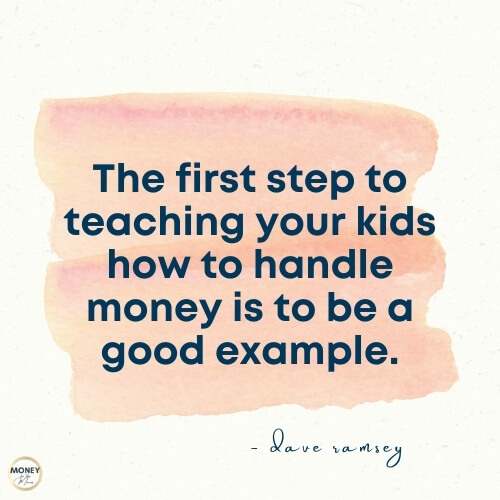 dave rasmsey quote on kids and money