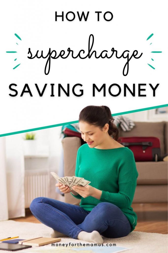 how to supercharge saving money