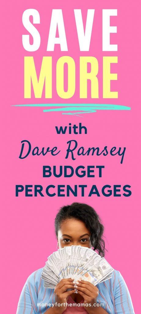save more with dave ramsey budget percentages