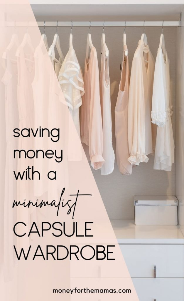 how to start a minimalist capsule wardrobe to save money