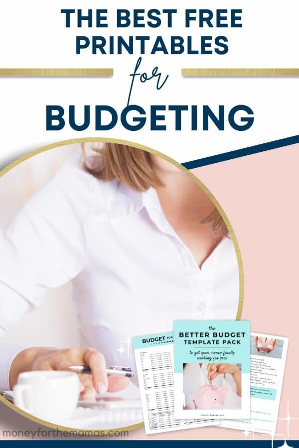 free budgeting printables