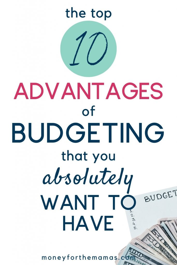 10 advantages of budgeting that everyone wants