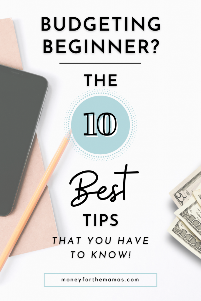 10 best budgeting tips for beginners