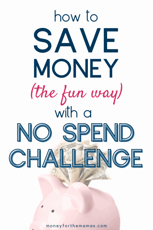 save money the fun way with a no spend challenge