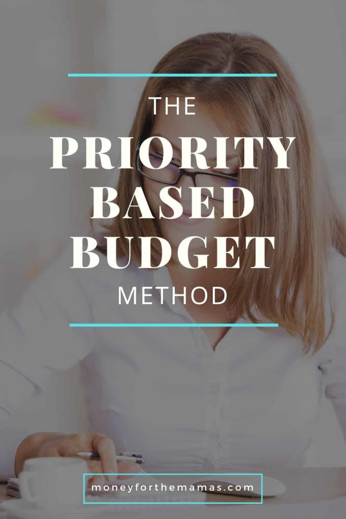 the priority based budget method