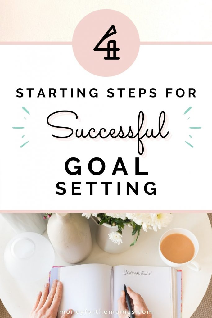 starting steps for goal setting