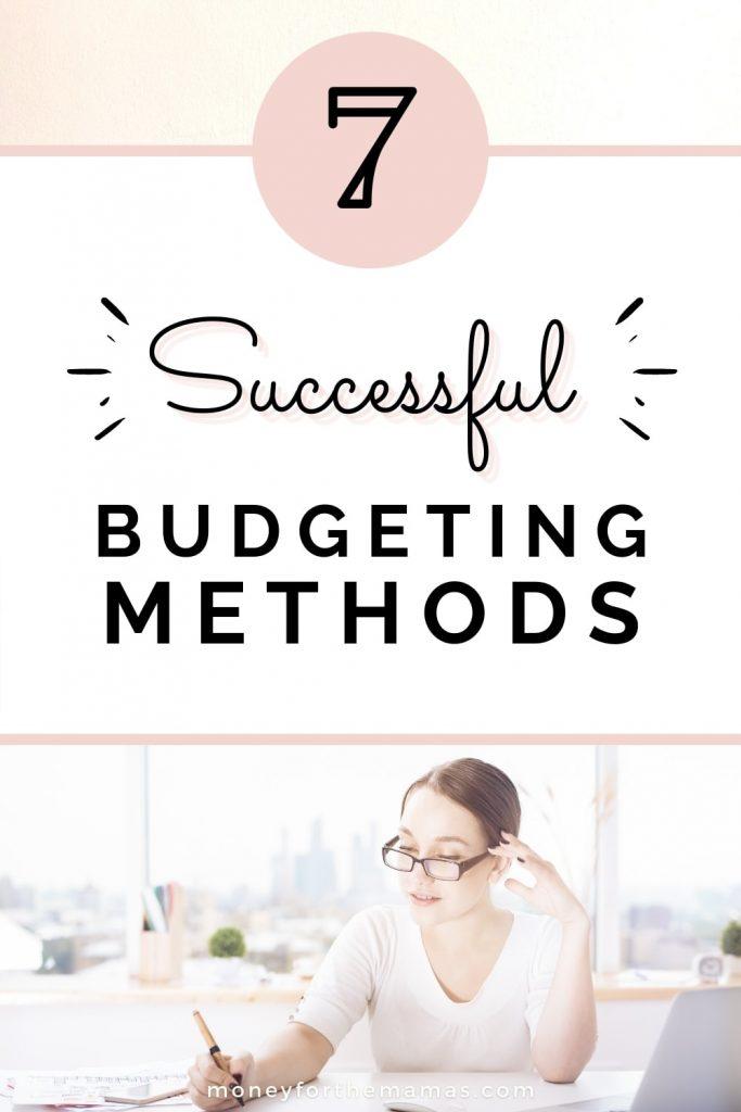7 different budgeting methods