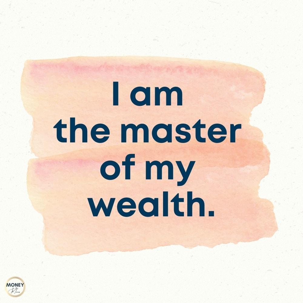 financial affirmation