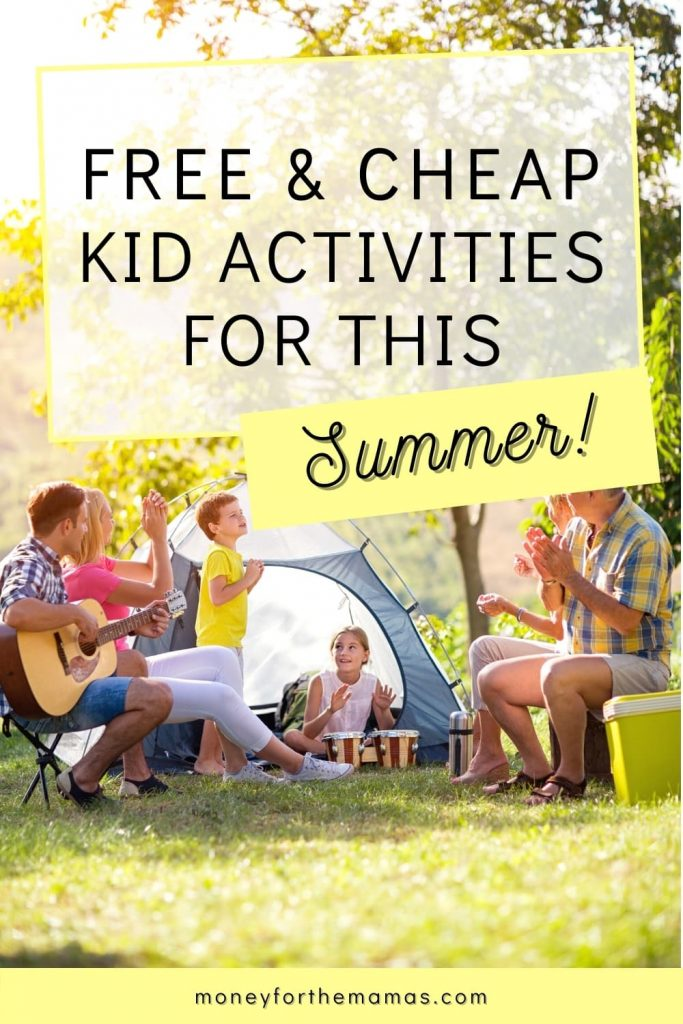 cheap things to do with the kids this summer