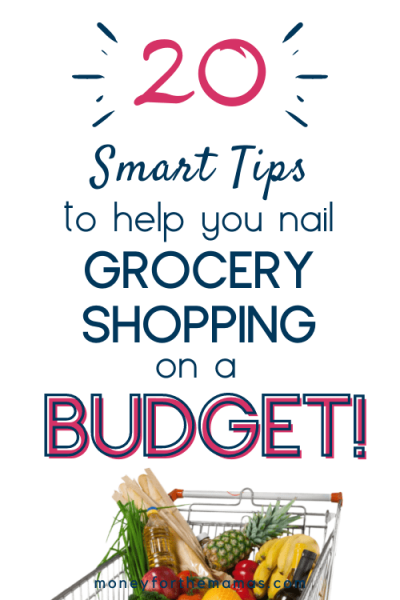 smart tips to help you grocery shop on a budget