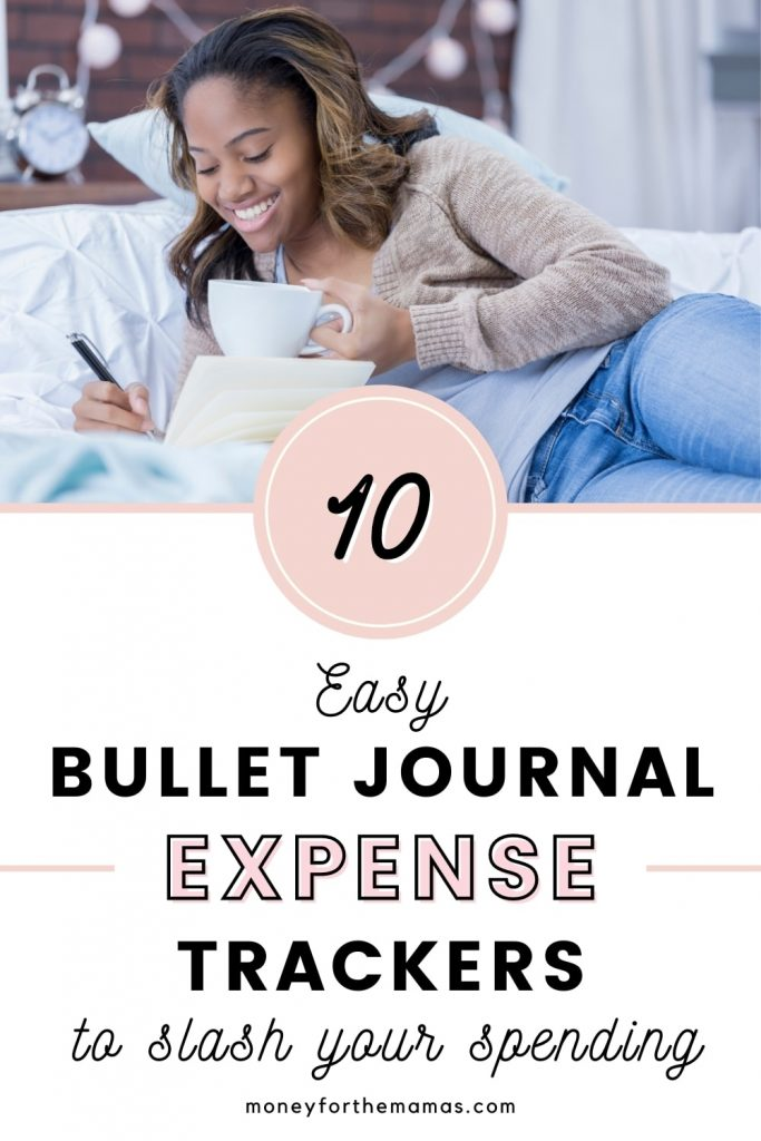 10 easy bullet journal expense trackers