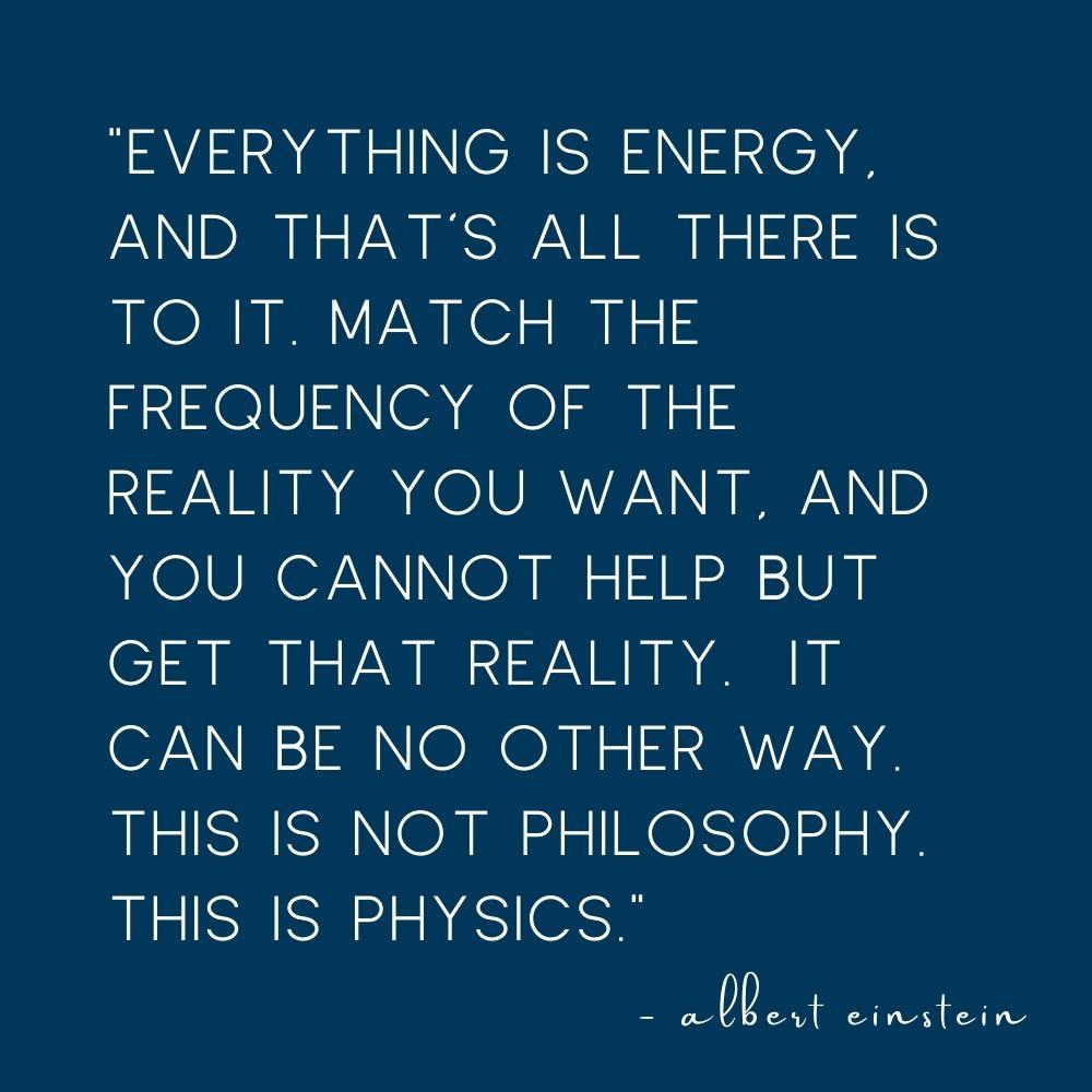albert einstein quote on energy