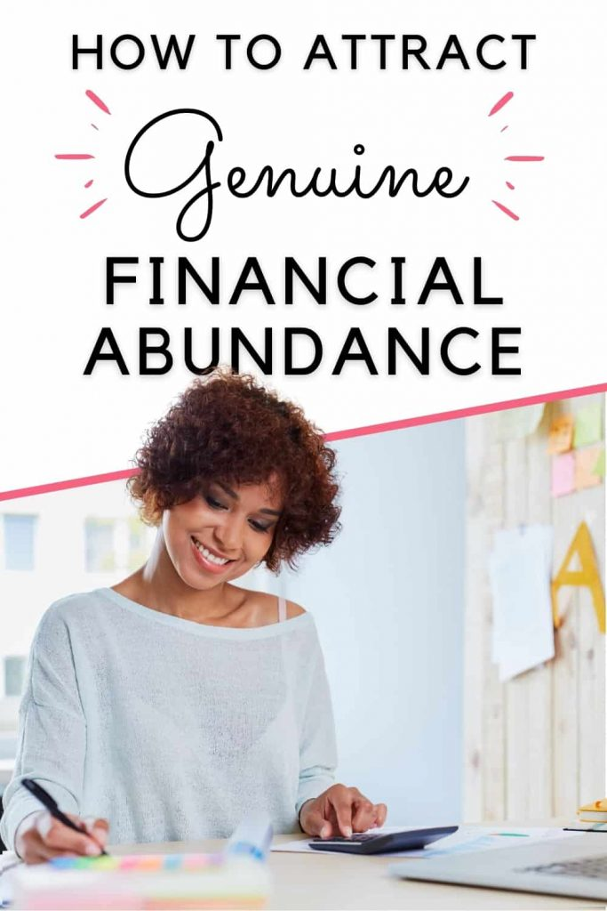 how to attract abundance