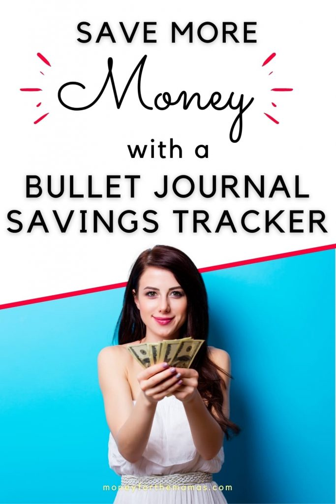 save more money with a finance bullet journal