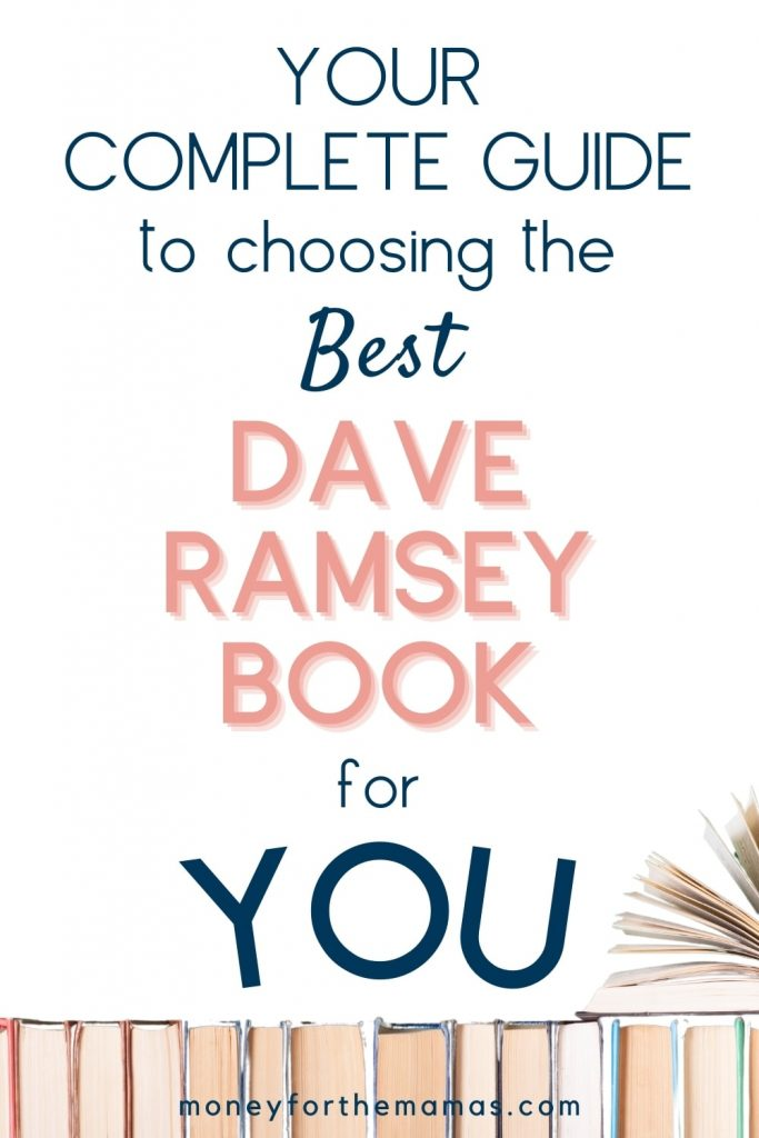 choosing the best dave ramsey book for you