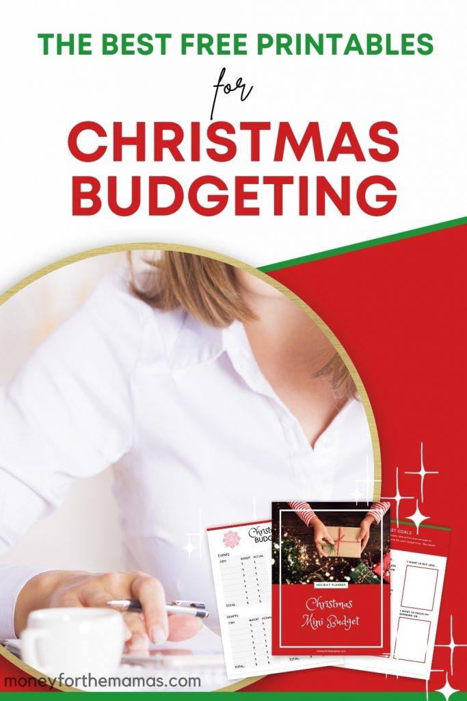free holiday budget planner