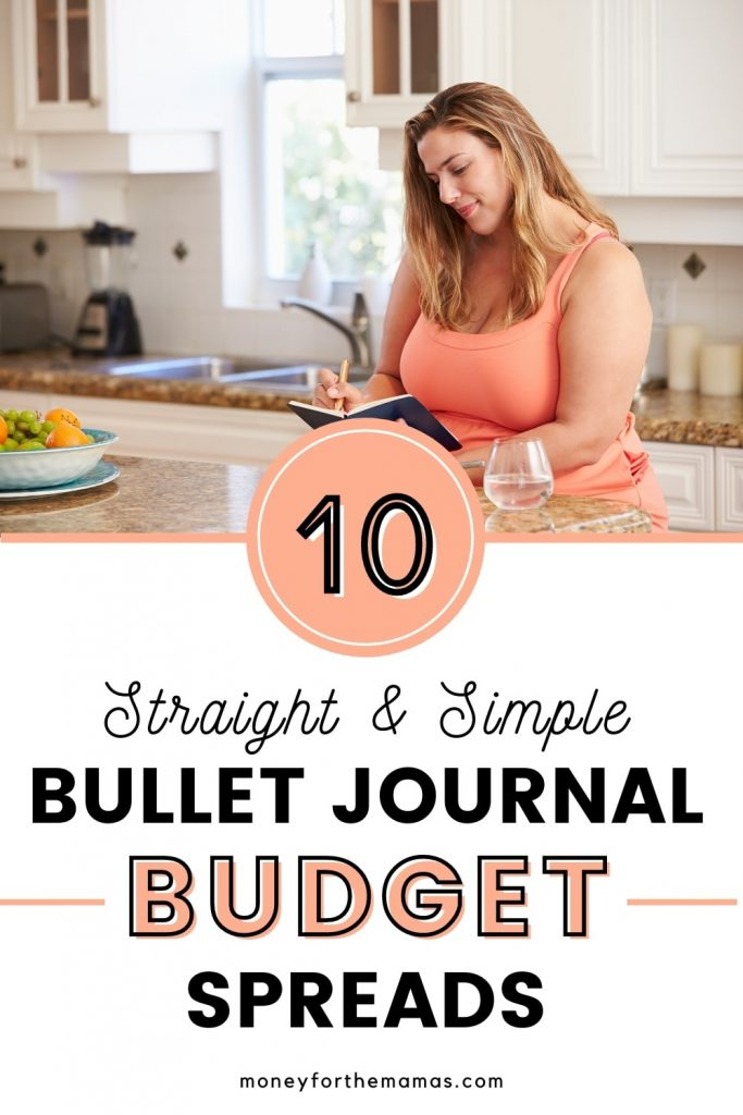 10 straight and simple bullet journal budget ideas