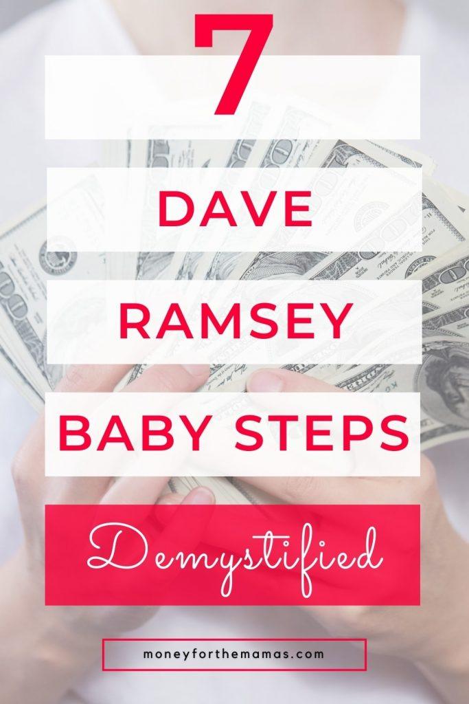 7 dave rasmey baby steps demystified