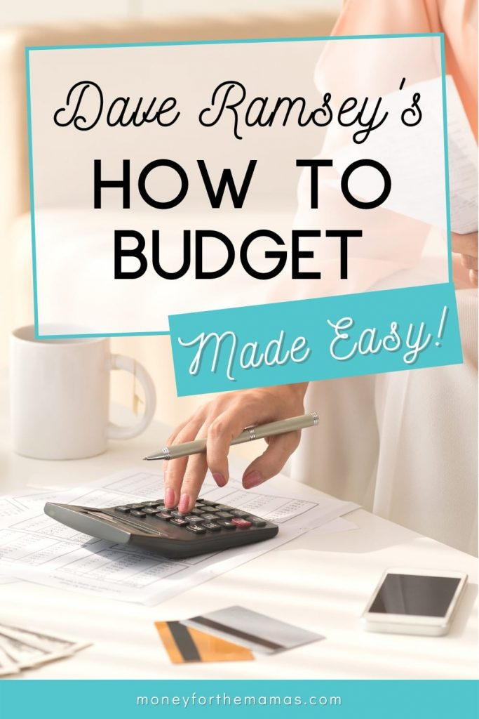 dave ramsey's how to budget made easy