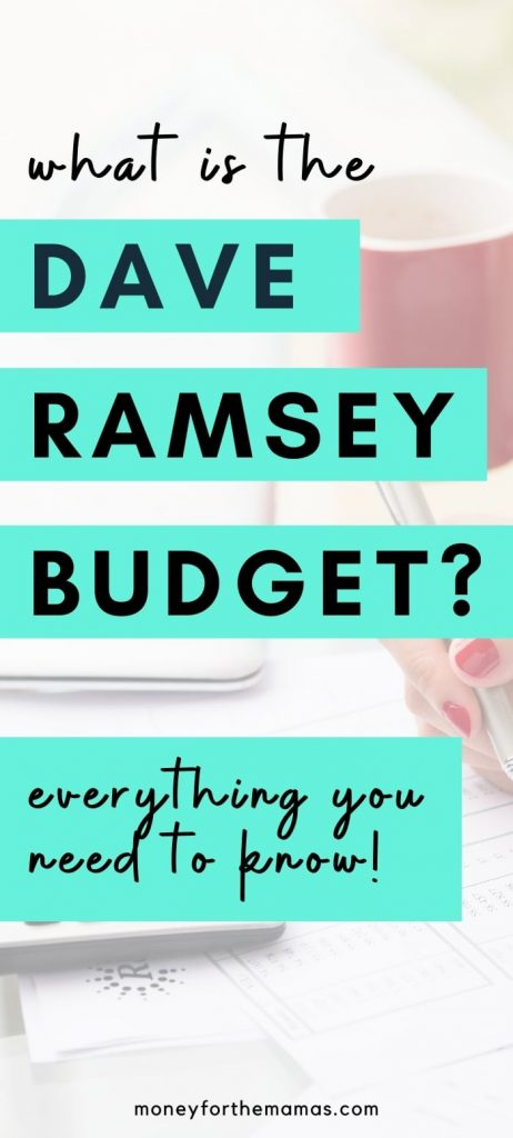 what is the dave ramsey budget