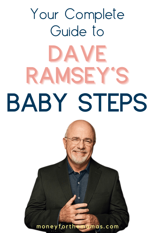 The Baby Steps by Dave Ramsey