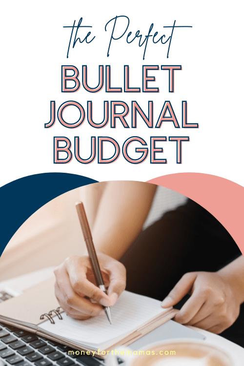bullet journal budget