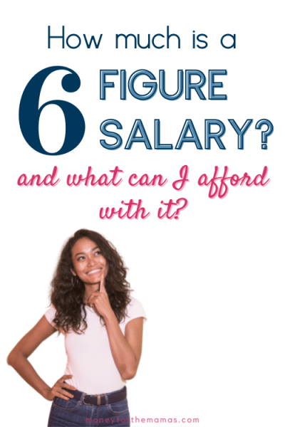 how much is a 6 figure salary