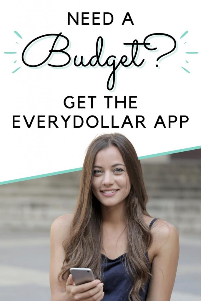 want to budget? get the everydollar app