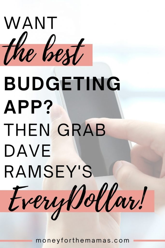 grab the everydollar budget