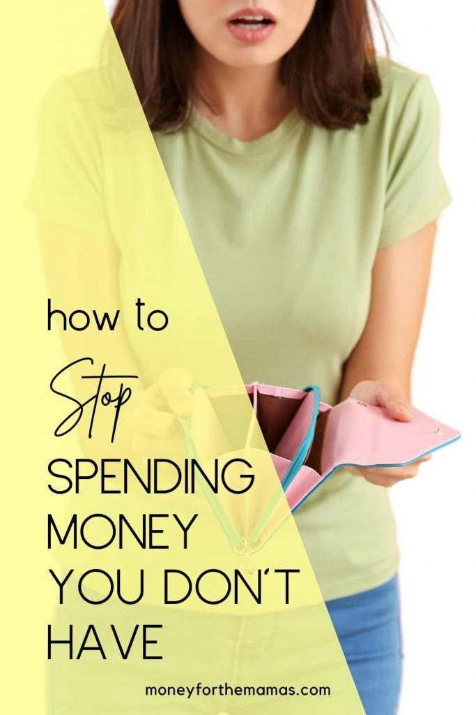 how to stop spending money on unecessary things