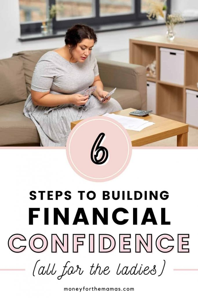 6 steps to boost financial confidence - for the ladies
