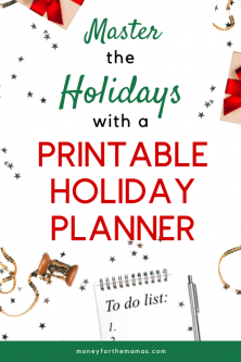 master the holidays with a free holiday planner template pack