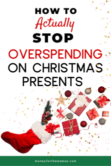 how to stop overspending on christmas presents